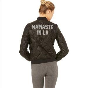 ALO YOGA Jacket - Namaste in LA, Black Camo